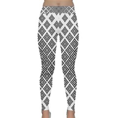 Background Pattern Halftone Classic Yoga Leggings