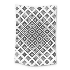 Background Pattern Halftone Small Tapestry