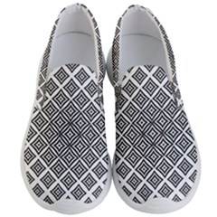 Background Pattern Halftone Men s Lightweight Slip Ons