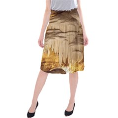 Caverns Rock Formation Cave Rock Midi Beach Skirt