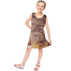 Caverns Rock Formation Cave Rock Kids  Tunic Dress