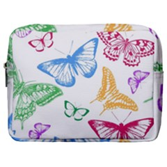 Butterfly Butterflies Vintage Make Up Pouch (large)