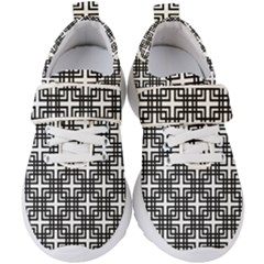 Pattern Vector Halftone Wallpaper Kids  Velcro Strap Shoes