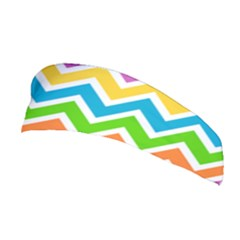 Chevron Pattern Design Texture Stretchable Headband by Pakrebo