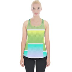 Pattern Banner Background Dot Set Piece Up Tank Top
