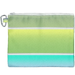 Pattern Banner Background Dot Set Canvas Cosmetic Bag (xxxl)
