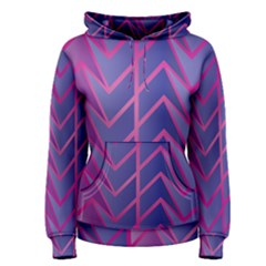 Geometric Background Abstract Women s Pullover Hoodie