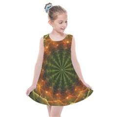 Fractal Digital Kids  Summer Dress