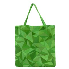 Mosaic Tile Geometrical Abstract Grocery Tote Bag by Pakrebo