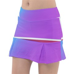Pattern Banner Set Dot Abstract Tennis Skirt