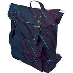 Glass Scifi Violet Ultraviolet Buckle Up Backpack by Pakrebo