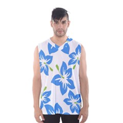 Hibiscus Wallpaper Flowers Floral Men s Basketball Tank Top