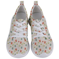 Floral Pattern Wallpaper Retro Women s Lightweight Sports Shoes