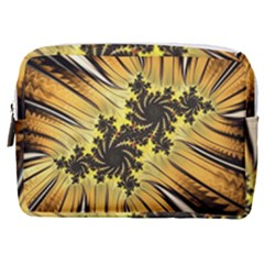 Fractal Art Colorful Pattern Make Up Pouch (medium)