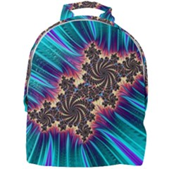 Fractal Mandelbrot Mathematical Mini Full Print Backpack by Pakrebo