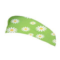 Daisy Flowers Floral Wallpaper Stretchable Headband by Pakrebo
