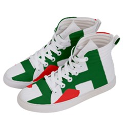Logo Of Chunta Aragonesista, Pre-2009 Men s Hi-top Skate Sneakers by abbeyz71