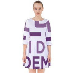 Logo Of Unidos Podemos Electoral Alliance (spain) Smock Dress