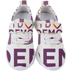 Logo Of Unidos Podemos Electoral Alliance (spain) Kids  Velcro Strap Shoes by abbeyz71
