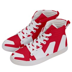Logo Of United Left Political Coalition Of Spain Women s Hi-top Skate Sneakers by abbeyz71