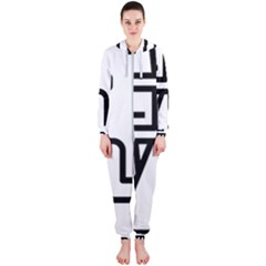 Mafioso Hooded Jumpsuit (ladies)  by Randy2013t