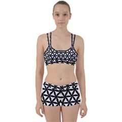 Pattern Floral Repeating Perfect Fit Gym Set
