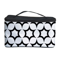 Pattern Star Repeating Black White Cosmetic Storage