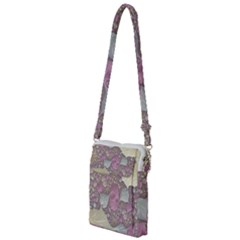 Pastels Cream Abstract Fractal Multi Function Travel Bag
