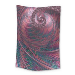 Fractal Artwork Digital Pattern Small Tapestry