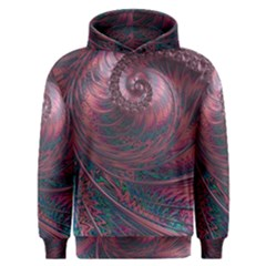 Fractal Artwork Digital Pattern Men s Overhead Hoodie