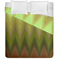Zig Zag Chevron Classic Pattern Duvet Cover Double Side (california King Size) by Pakrebo