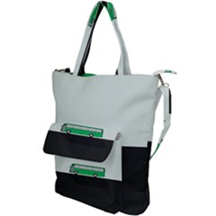 Bus Shoulder Tote Bag