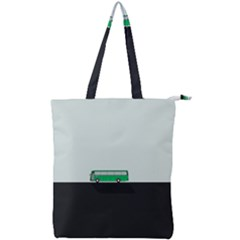 Bus Double Zip Up Tote Bag by Valentinaart