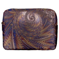 Swirl Fractal Fantasy Whirl Make Up Pouch (large)