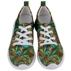 Fractal Artwork Pattern Digital Women s Lightweight Sports Shoes