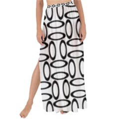 Ellipse Pattern Ellipse Dot Pattern Maxi Chiffon Tie Up Sarong