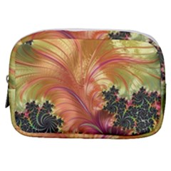 Fractal Feather Artwork Art Make Up Pouch (small)