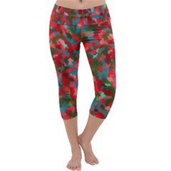 Redness Capri Yoga Leggings