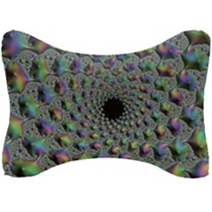 Fractal Rainbow Art Artwork Design Seat Head Rest Cushion