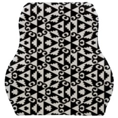 Geometric Tile Background Car Seat Velour Cushion
