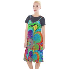 Fractal Art Psychedelic Fantasy Camis Fishtail Dress