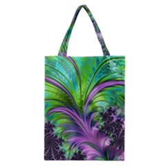 Fractal Art Artwork Feather Swirl Classic Tote Bag by Pakrebo