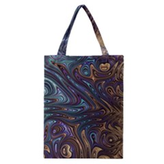 Fractal Art Artwork Globular Classic Tote Bag