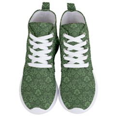 Damask Pattern Victorian Vintage Women s Lightweight High Top Sneakers