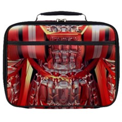 Mechanical Droid Mandelbulb Full Print Lunch Bag