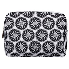 Pattern Swirl Spiral Repeating Make Up Pouch (medium)