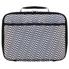 Wave Wave Lines Diagonal Seamless Full Print Lunch Bag