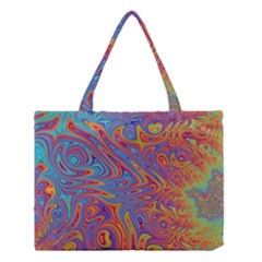 Fractal Psychedelic Fantasy Surreal Medium Tote Bag