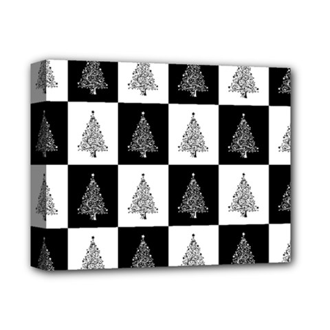Christmas Tree Christmas Tree Deluxe Canvas 14  X 11  (stretched) by Pakrebo