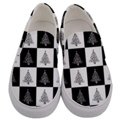 Christmas Tree Christmas Tree Men s Canvas Slip Ons